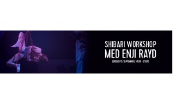 Shibari Workshop med Enji Rayd