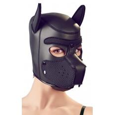 Bad Kitty - Puppy Dog - Sort Hundemaske i Neopren