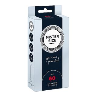 Mister Size – 60mm – 10stk Tynne Kondomer