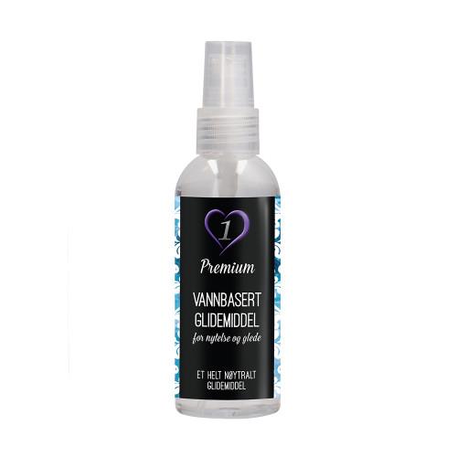 Premium - Glidemiddel, Vannbasert - 50ml