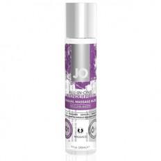 System Jo - All-in-One - Silikonbasert Massasjeglid - Lavendel Fields - 30 ml