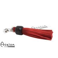 Avalon - PRIDE - Kort nøkkelringflogger, rød