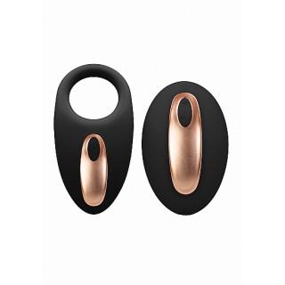 Elegance - Poise - Sett med Vibrerende Penisring og Klitorisvibrator - Fjernkontroll
