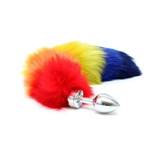 Buttplug med hale, Regnbue