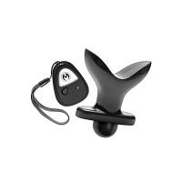 Master Series - Ass Anchor - Vibrerende buttplug med fjernkontroll