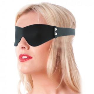 Rimba - Øyemaske i silikon, sort