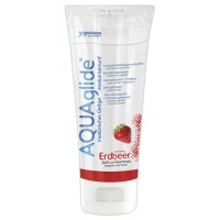 AQUAglide - Vannbasert Glidemiddel - Bringebærsmak 100 ml