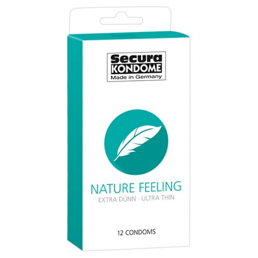 Secura - Nature feeling - tynne kondomer 12 pk