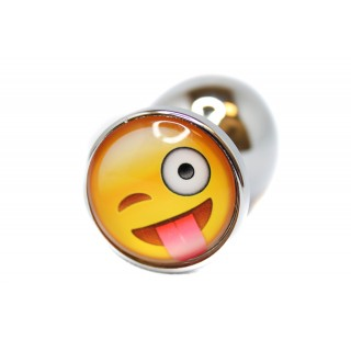 BQS - Buttplug med emoji - Luring Smiley