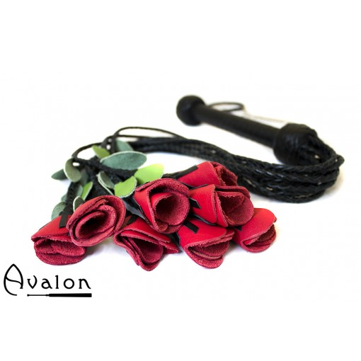 Avalon - THORN - Roseflogger med sort håndtak