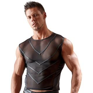 Svenjoyment - Skjorte med tøffe striper
