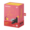 Satisfyer Double Fun - Parvibrator med APP og Fjernkontroll - Sort