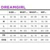 Dreamgirl - Fishnet & Lace sett - Rød - Queen size