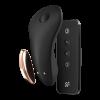 Satisfyer Little Secret - Trusevibrator med APP og Fjernkontroll - Sort