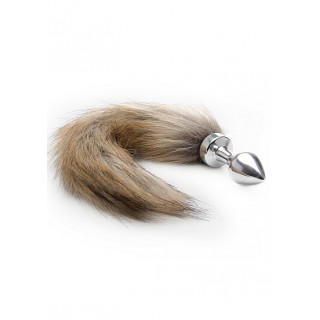 Ouch! - Foxtail Buttplug Sølv