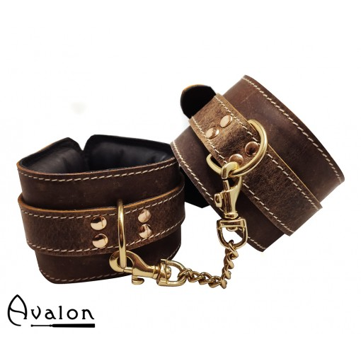 AVALON - Viking - Munin - Fotcuffs - Brun